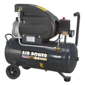 Sealey Air Compressor 6.3 cfm Direct Drive 110v (Various Sizes)