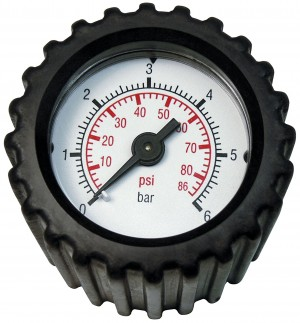 Solo Pressure Control Gauge with Connecting Fittings 10Bar Max for Garden Sprayers