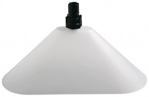 Solo Oval Drift Guard with Flat Spray Nozzle for Garden Sprayers