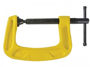 Stanley Max Iron Bailey G-Clamp (Various Sizes)