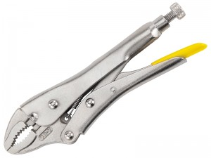 Stanley Mole Grip Curved Jaw Locking Pliers (Various Sizes)