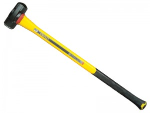 Stanley FatMax Anti-Vibration Fibreglass Long Handle Sledge Hammer (6lb or 8lb)