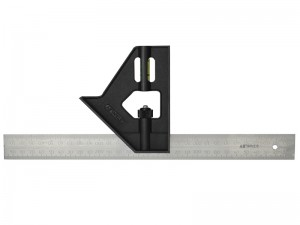 Stanley Lightweight Metric & Imperial Combination Square 300mm