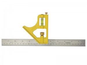 Stanley Die Cast Metric & Imperial Combination Square 300mm