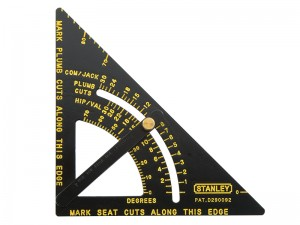 Stanley Adjustable Bevel Protractor Quick Square 170mm
