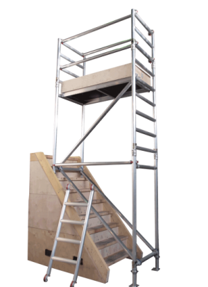 UTS Stairwell Alloy Access Work Platform Tower 1.5m Length (Various Heights)