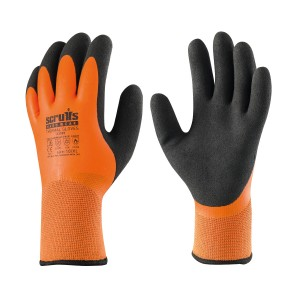 Scruffs Thermal Latex Safety Work Gloves (Sizes L-XL)