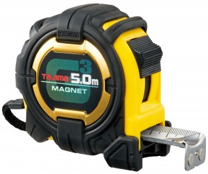 Tajima Extra Wide Tape Measure With Magnet (5m or 8m)
