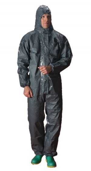 Ultrachem Green Type 3&4 Disposable Chemical Coverall Suit (Sizes S-XXL)