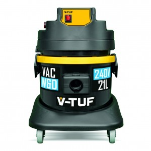 V-Tuf Heavy Industrial Wet & Dry Vacuum Cleaner 21-Litre (110v or 240v)