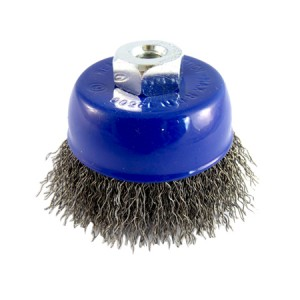 Toolpak Steel Crimped Cup Wire Brushes (75mm Or 125mm)