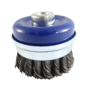 Toolpak Heavy Duty Twist Knot Cup Wire Brushes (80mm Or 100mm)