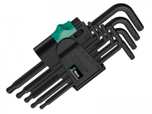 Wera Torx Black Ball End Hex Key Set 9-Piece