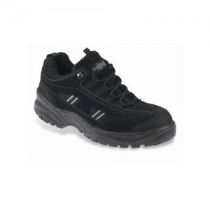 Apache AP302SM Safety Work Trainer Shoes Black (Sizes 3-12)