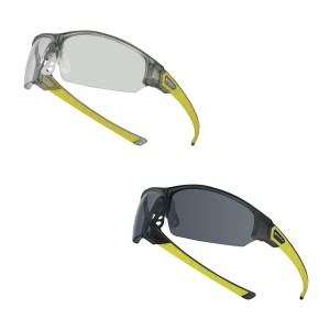 Delta Plus ASO Safety Specs / Glasses Single Lens Spectacle (Clear or Smoke)