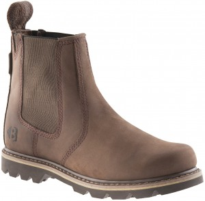 Buckler B1400 Buckflex Dealer Boots Chocolate Oil (Sizes 6-13)