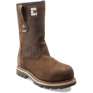 Buckler B601SMWP Waterproof Safety Rigger Work Boots Chocolate Oil Leather (Sizes 6-13)