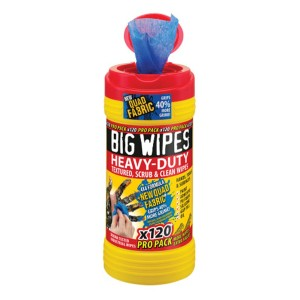 Big Wipes 4x4 Heavy Duty Cleaning Wipes Tub Of 120
