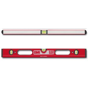 BMI Robust 4-Chamber Box Spirit Level Anti-Torsion With Hand Holds 1200mm