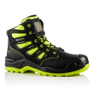 Buckler BUCKZVIZ Waterproof Hi-Vis Safety Work Boots Yellow (Sizes 6 - 13)