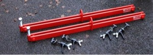 Spreader Bars for Mustang Hydraulic Manhole Cover Lifter (Pair)