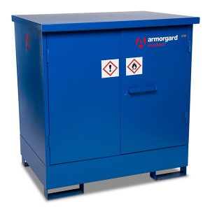 Armorgard DrumBank Sump Pallet Secure Cabinet Oil Drum Spill Containment (Various Sizes)