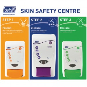 Deb 3-Step Skin Safety Centre (Various Sizes)