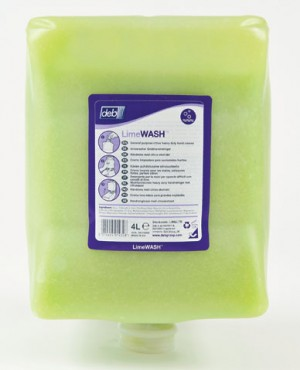 Deb Lime Wash Heavy Duty Hand Cleanser Cartridge (Various Sizes)
