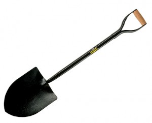 Defiance All Steel No.2 Round Mouth MYD Handle Shovel