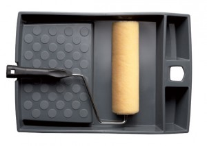 Defiance Professional Paint Roller & Tray Set 230mm