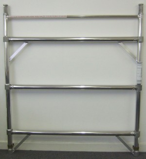 Euro Towers FKD3/6 3 Rung Double Width Frame