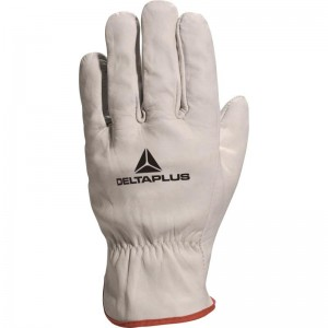 Delta Plus FBN49 Safety Gloves Full Grain Cowhide Leather (Various Sizes)