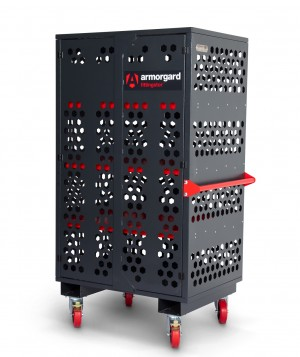 Armorgard FittingStor Secure Mobile Fittings Storage Cabinet 1077 x 775 x 1880mm