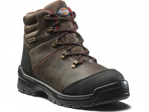 Dickies Cameron Safety Work Boots Brown (Sizes 6-12)