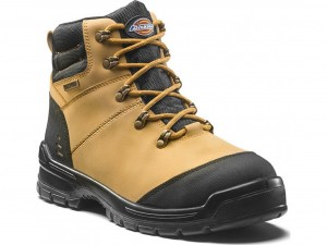 Dickies Cameron Safety Work Boots Tan Honey (Sizes 6-12)