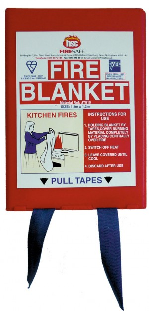 Fire Blanket In-a-Box (size options)
