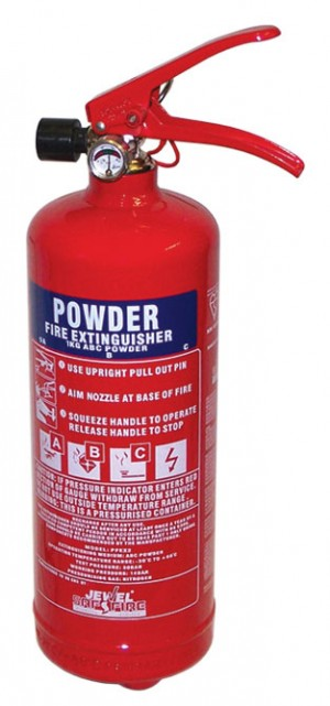 Fire Extinguisher Powder (1, 2, 6 & 9Kg options)