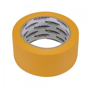 Fixman Builders Adhesive Tape 50mm x 33 Metres (Yellow or White)