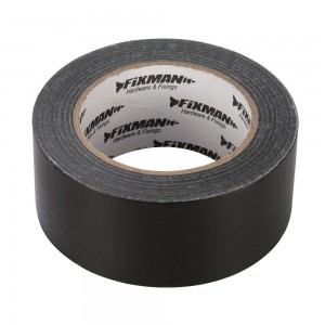 Fixman Heavy Duty Duct Tape (Various Sizes & Colours) Black/Silver/Clear