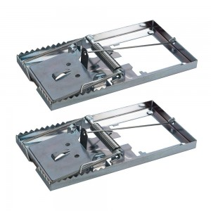 Fixman Metal Mouse Traps 115 x 60mm Pack of 2