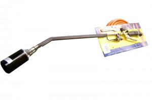 Gas Burning Torch 600mm with Regulator