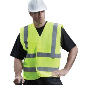 Orbit Yellow Hi Vis Waistcoat High Viz Visibility Vest Bibs EN471 (Sizes M-XXXL)