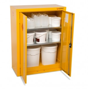 Armorgard SafeStor HFC5 Secure Chemical Storage Cabinet - 900 x 465 x 1200mm