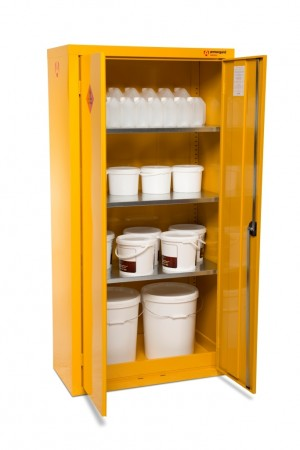 Armorgard SafeStor HFC7 Secure Chemical Storage Cabinet - 900 x 465 x 1800mm