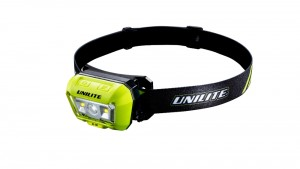 Unilite HL-8R LED Rechargeable Dual Beam Head Torch 475 Lumens