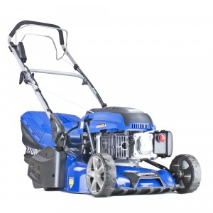 Hyundai HYM430SPER Petrol Self Propelled Roller Lawn Mower 42cm/16.5in Elec Start