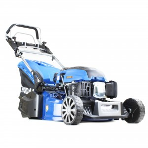 Hyundai HYM480SPER Petrol Self Propelled Lawn Mower 48cm/19in Elec Start