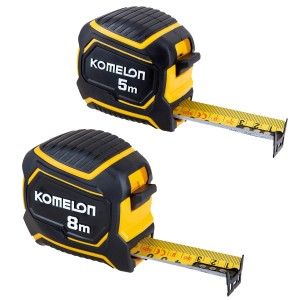 Komelon TWIN PACK Extreme Stand-out Pocket Tape Measure 5m & 8m