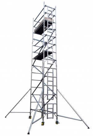 UTS 25SW Industrial Alloy Scaffold Access Tower S/W x 2.5m (Various Heights)