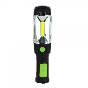 Luceco USB Rechargeable Swivel Torch Power Bank 300 Lumens